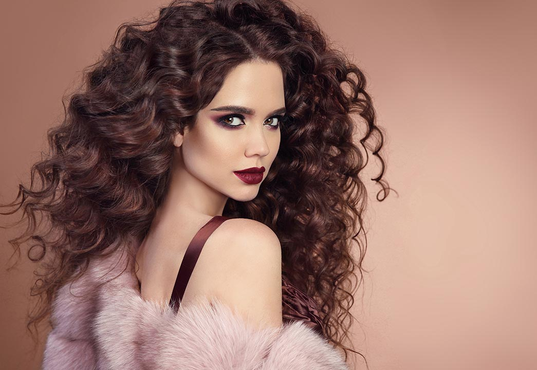 womens brown curly new hairstyle