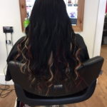 ladies dark hair extensions
