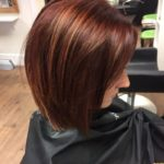 bob hairstyle with highlights and low lights