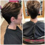 short womens hairstyle